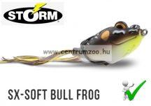 STORM SX-SOFT Bull Frog 03 gumibéka 7cm 20g -  Brown Leopard (SXF3310)