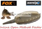 Fox Matrix Inline Open Method Feeder M 80g feeder kosár töltő (GFR049)