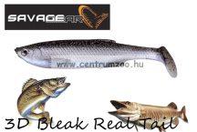 SAVAGE GEAR LB 3D Bleak Paddle Tail 8cm 4g 5pcs 01-Bleak gumihal (48741) küsz utánzat