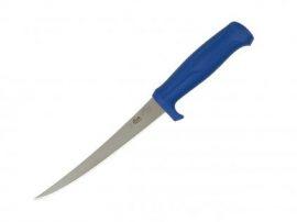 MORA NARROW FILLET KNIFE BLUE kés (MOR11-638) tokkal