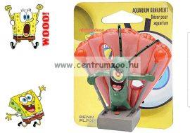 SPONGEBOB Spongyabob Dekoráció Plankton 5cm akvárium dekorációs szobrocska (040511)