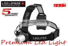 LED LENSER E41-7041 Led fejlámpa 3xAAA 80lm