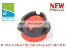 PRESTON DURA BANJO QUICK RELEASE MOULD töltő (PBM/M) MEDIUM