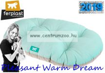 Ferplast Relax  65/6 Pleasant Warm Dream Blue pamut kutyapárna Siesta fekhelybe - kék