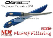 Marttiini Martef Filleting 31cm (fűrészes, műanyag tokkal) kés 836018T