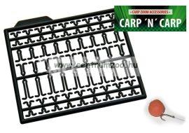 Carp'N'Carp Bojli és pellet stopper - hajszálelőkéhez  (CZ1717  CZ1724)