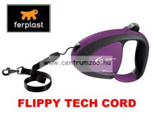 Ferplast Flippy Tech Deluxe Cord Small Purple zsinóros póráz - LILA