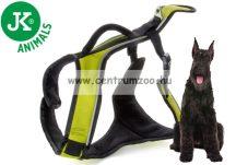 JK Animals X-TRM Trekking  25x800-1000mm  állítható prémium hám zöld kutyahám (41024-1)