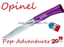 OPINEL Pop & Fuchsia Adventurer zsebkés 8cm pengehosszal (001427) - Plum