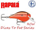 Rapala DTFAT01 Dives-Too Fat SureSet Rapala wobbler - AKCIÓ