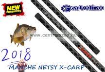 MERÍTŐNYÉL GARBOLINO MANCHE NETSY X-CARP - 3,1m 2+1rész merítő nyél   (GOMNE6231310-2+1)