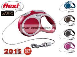Flexi Vario NEW XS RED 3m 8kg automata póráz -PIROS