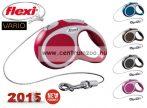 Flexi Vario 2015NEW XS RED 3m 8kg automata póráz -PIROS