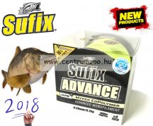 Sufix ADVANCE Hyper CoPolymer 1000m G2 Winding 0,25mm/6,1kg/HI VIS YELLOW monofi zsinór
