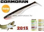 Cormoran K-Don S9 prémium gumihal 13cm BLACK-WHITE  (51-28307)