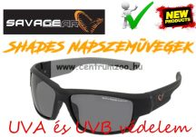 Savage Gear Shades Floating Polarized Sunglasses - Dark Grey (Sunny) napszemüveg (57574)