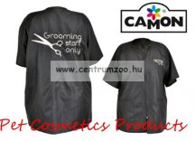 Camon Professional Grooming Black Coat kutyakozmetikusi kötény Medium (G655/B)