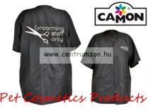 Camon Professional Grooming Black Coat kutyakozmetikusi kötény Medium (G655/B)