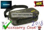 Shimano Tribal XTR Baiting Pouch Camo Case  szerelékes táska 26x13x12,5cm (SHTRXTR14)