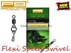 PB Products Flexi Ring Speed Swivel gyorskapocs 8db (FRS)