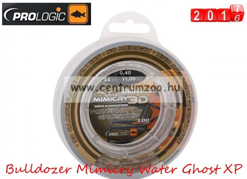 PROLOGIC Bulldozer Mimicry Water Ghost XP 100m 24lbs 11.0kg 0.40mm  előtétzsinór (48459) 95c6e5d8bd