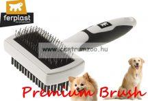 Ferplast Professional Premium 5765 Double szőrzet ápoló kefe prémium (85765799)