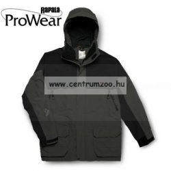 Rapala Pro Wear X-ProTect Parka Charcoal/Black XL (21106-1)