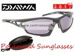 Daiwa Polarized Sunglasses RED EYE AMBER LENS BLACK FRAME DPRESG1 -szürke lencse