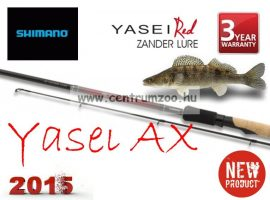 Shimano bot YASEI RED AX ZANDER LURE 270cm 10-30g ( SYARAXZDRL27 ) süllős bot