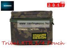 SHIMANO Tribal XTR 1/4 Pouch etető anyagos és szerelékes táska 13x13x10cm (SHTRXTR102)