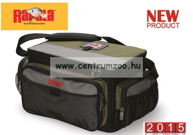 Rapala táska Limited Series Tackle bag (zöld) horgásztáska rekeszekkel  46016-1 60ddc57dfc