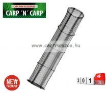 haltartó Carp Zoom Fémkarikás haltartó szák 4rész 45*200cm (CZ8334)