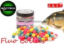 Bait-Tech Fluo Pop Ups Sweet Coconut 15 18mm KÓKUSZ ízben (2501414)