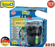 Tetra Tech EX PLUS  600 külsőszűrő 2017NEW 120l-ig