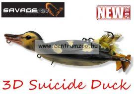 Savage Gear 3D Suicide Duck mű kiskacsa csukára, harcsára 10,5cm 28g (Natural color) (53730)