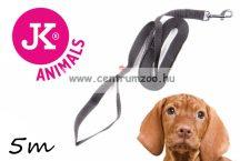 JK Animals kiképző és futtató erős textil póráz  20mm  5m (49023)