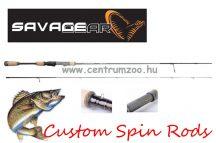 Savage Gear Custom UL Spin 6'6'' 198cm 2-7g - 2sec pergető bot (50171)