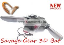 Savage Gear 3D Bat 7cm 14g Grey (57648) denevér formájú műcsali