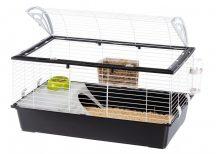Ferplast Casita 100 Black Edition nyúlketrec, tengerimalac ketrec  (NEW 2 ajtós változat)