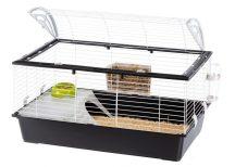 Ferplast Casita 100 Black Edition nyúlketrec, tengerimalac ketrec  (NEW 2 ajtós változat) (57066170)