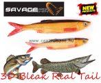 SAVAGE GEAR LB 3D Bleak Real Tail 10.5cm 8g 5pcs 02-Rudd Minnow gumihal (48735) küsz utánzat