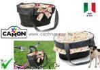 Camon Bike Borsa Jeans copricestino per bici - kerékpáros kutya szállító, hordozó szives virágokkal(CC063/B)