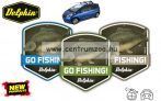 GO FISHING! Carp - autós illatosító - NEW CAR (795000900)