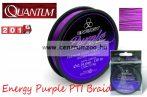 Quantum Energy Purple PTI Braid 150m 0,14mm 5,50kg purplefonott zsinór