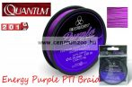 Quantum Energy Purple PTI Braid 150m 0,14mm 5,50kg purple fonott zsinór