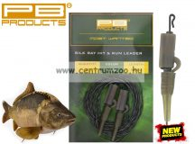 PB Products Silk Ray Hir & Run Leader 90cm Weed előtétzsinór (SHR90)