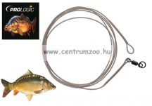 Prologic LM Mirage Loop Leader 100cm 45lbs W Ring Swivel 2db (54952)