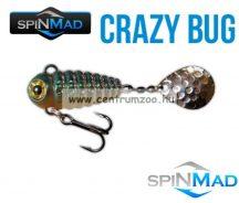 SpinMad Blade Baits gyilkos wobbler CRAZY BUG 6g  2504