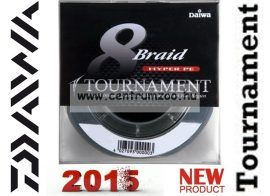 DAIWA TOURNAMENT 8X Braid 135m 0,26mm 24,0kg fonott zsinór (12705-026) SÖTÉTZÖLD