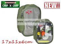 Carp'n'Carp átlátszó tetejű táska közepes, zöld  17x11x6cm (CZ3453)